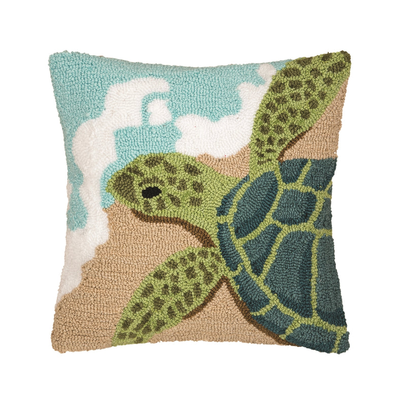 Turtle Waves Pillow