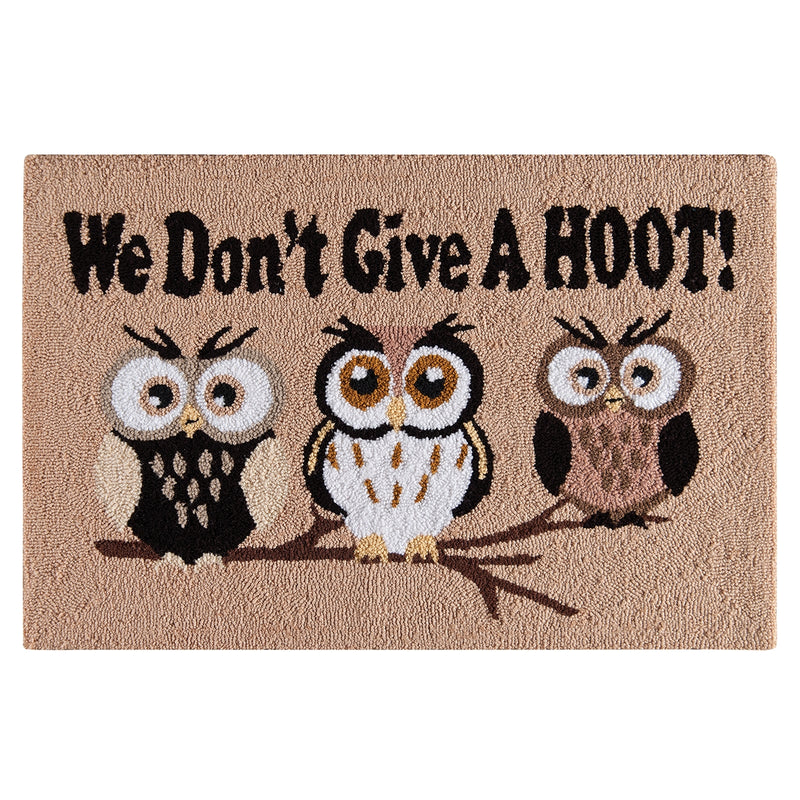 We Don't Give A Hoot! Rug