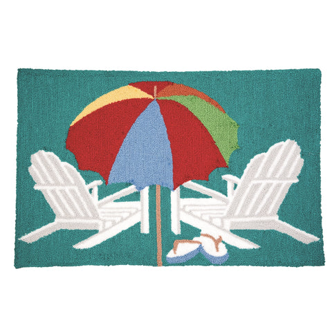 Beach Umbrella Rug