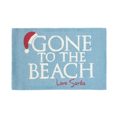 Gone To The Beach Holiday Hooked Rug