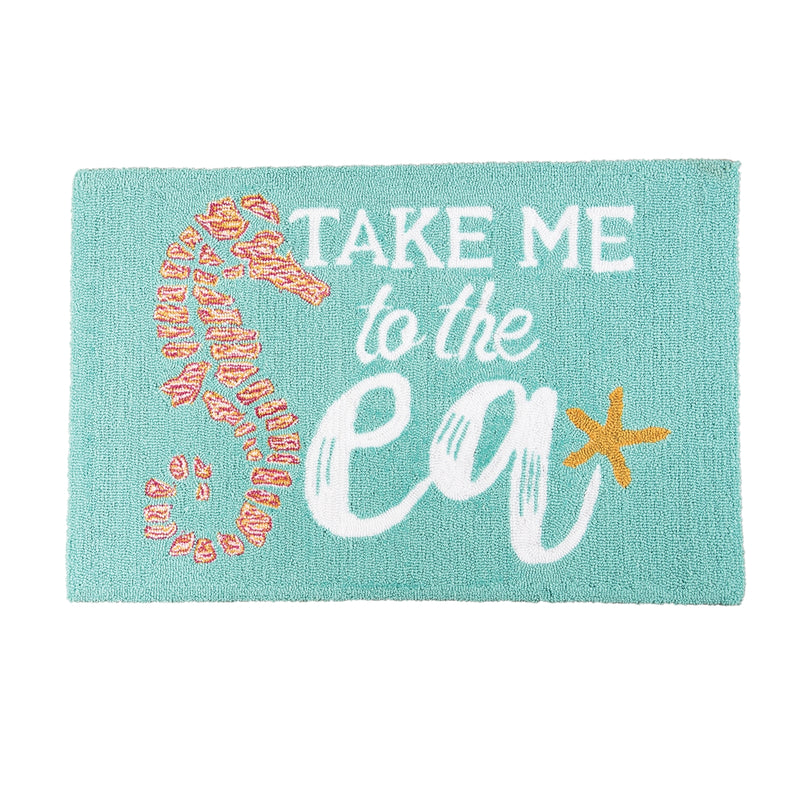 Take Me To The Sea Rug