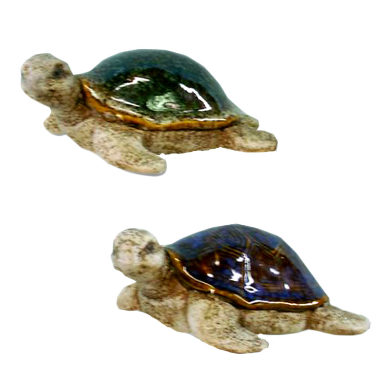 Garden Turtle - Available in Green or Blue