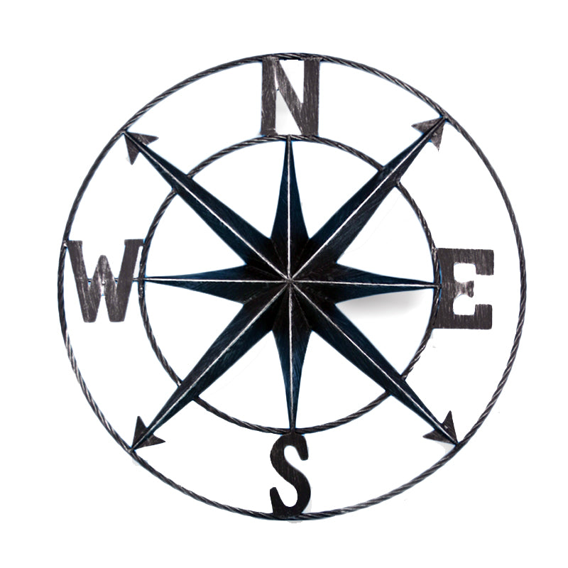 Compass Wall Plaque - 24""