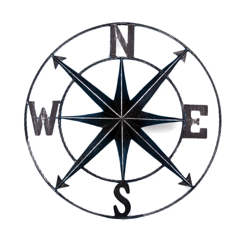 Compass Wall Plaque