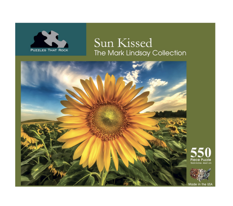 Sun Kissed Jigsaw Puzzle 550 Piece