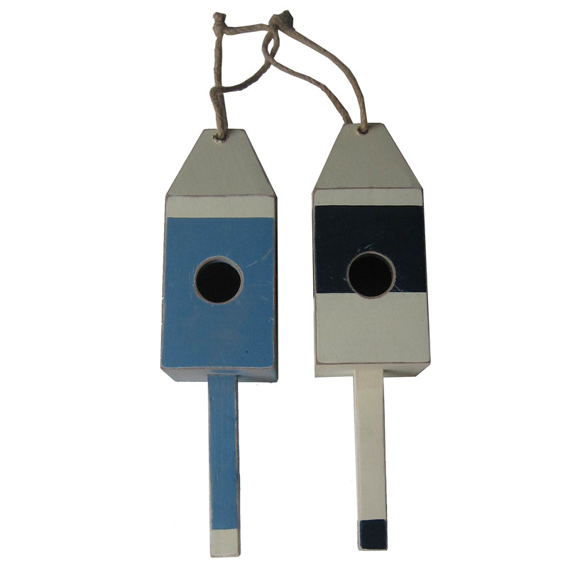 Buoy Birdhouse - Available in Navy or Light Blue
