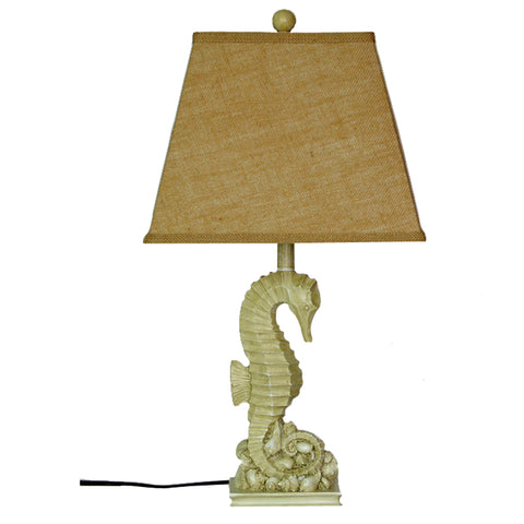 "26"" Seahorse Table Lamp w/ Shade"