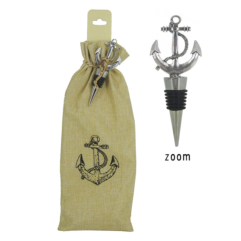 Anchor Wine Stopper with Bag Set