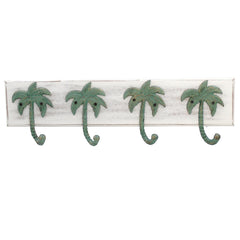 Palm Tree Wall Hook Plaque - 24.25