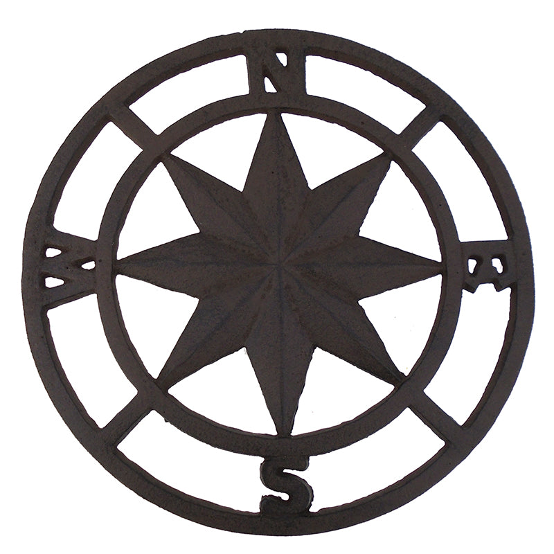 Compass Stepping Stone 12""