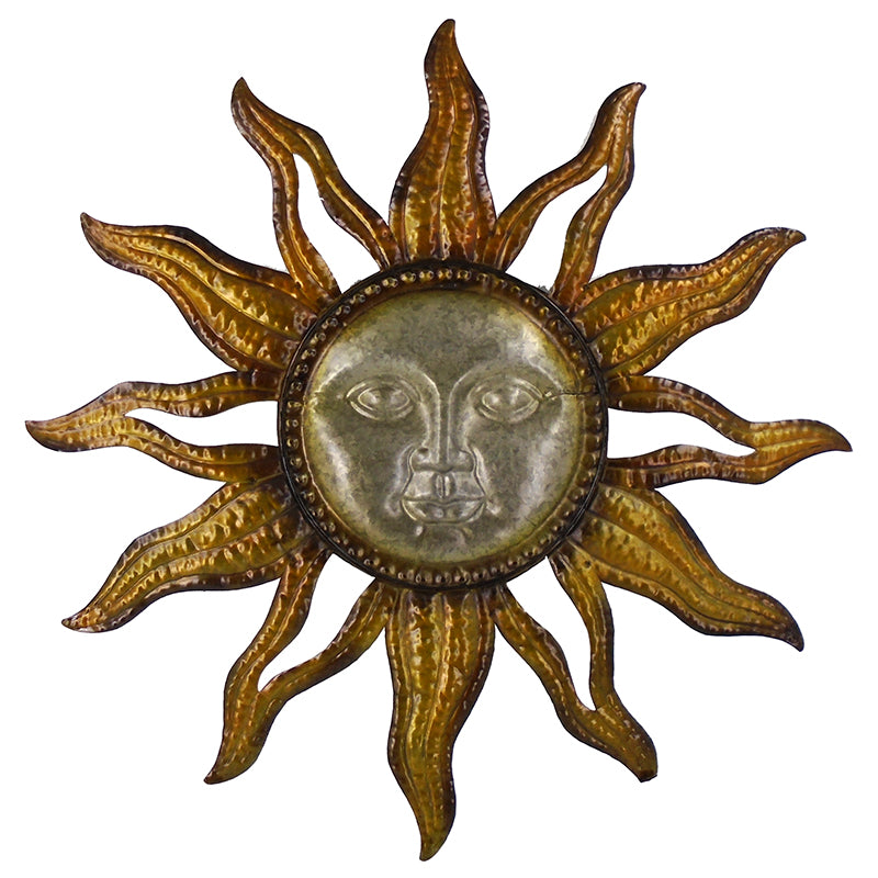 Sun Face Sunburst Wall Art