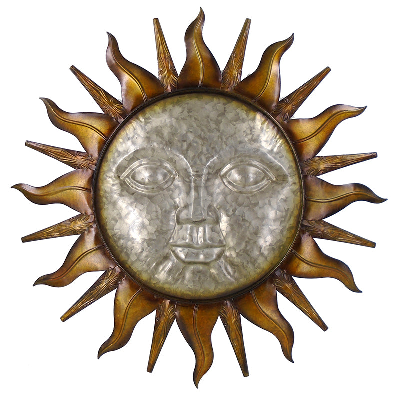 Sun Face Wall Art - 26.5""