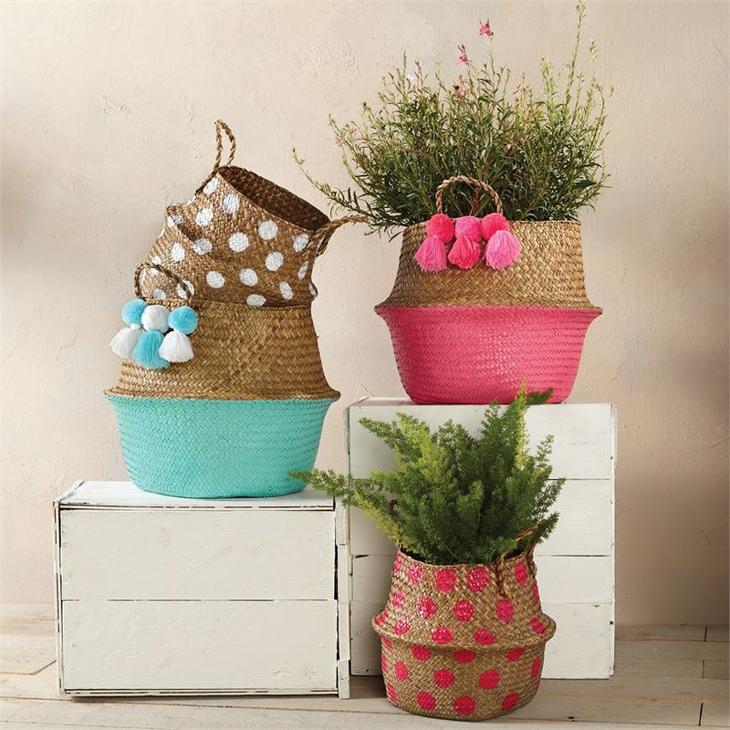 Colorful Collapsible Basket