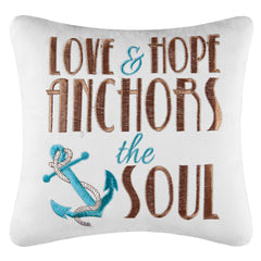 Anchors The Soul Pillow