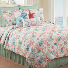 Caribbean Splash Quilt Set