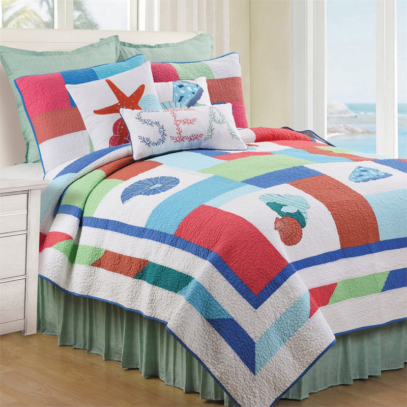 Antigua Bay Quilt Set
