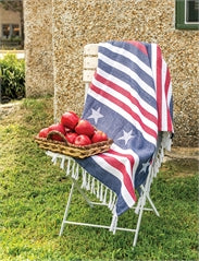 Stars & Stripes American Throw Blanket