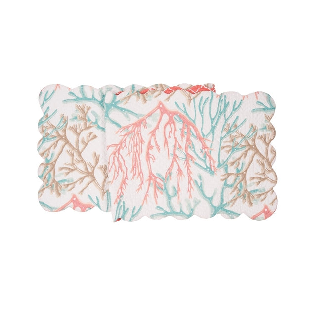 Oceanaire Seafoam Table Runner, Place Mat & Napkins