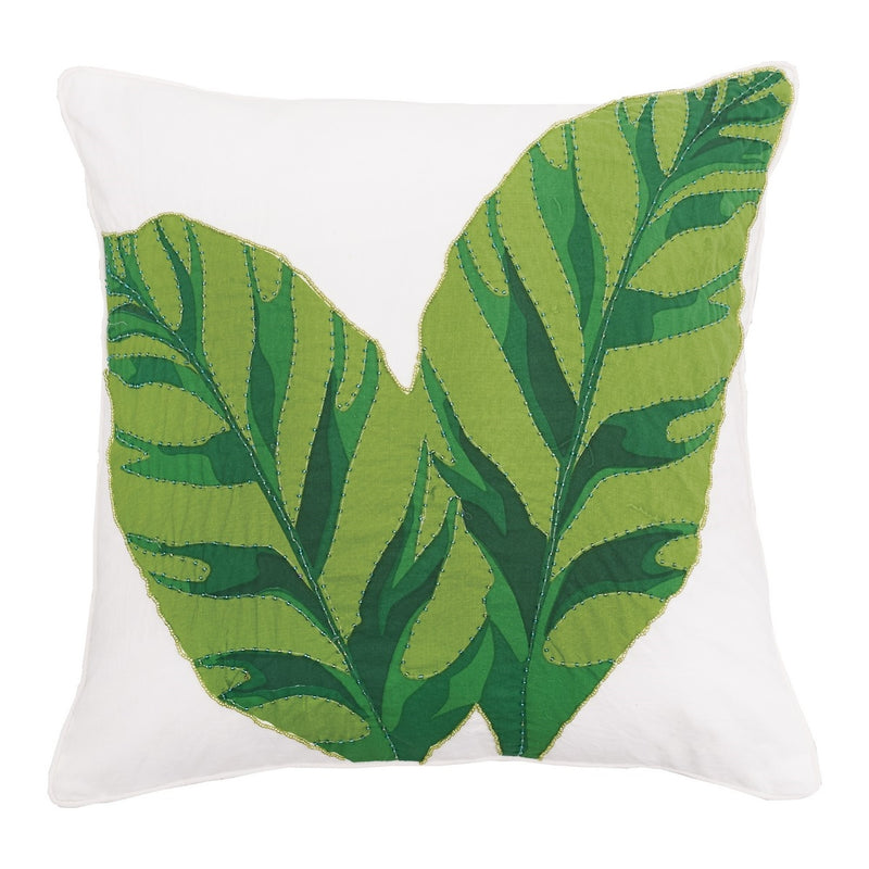 Layla Banana Leaves Pillow