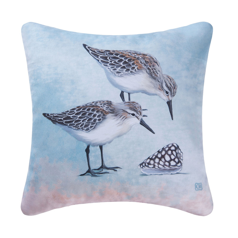 Sand Pipers Pillow