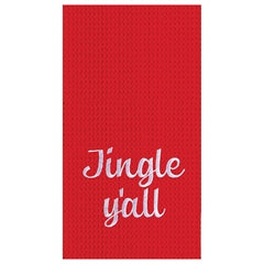 Jingle Y'all Kitchen Dish Towel