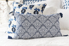 Lottie Indigo Pillow