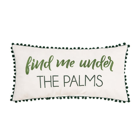 Under The Palms Pillow