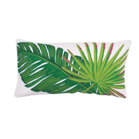 Layla Fan Palm Pillow