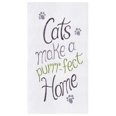 Purrr-fect Home Kitchen Towel