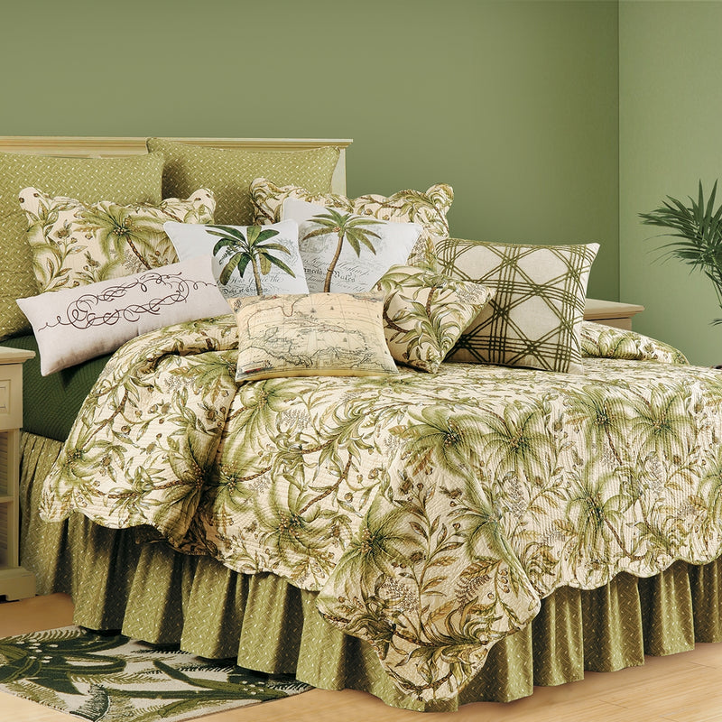 Barbados Sand Quilt - Green