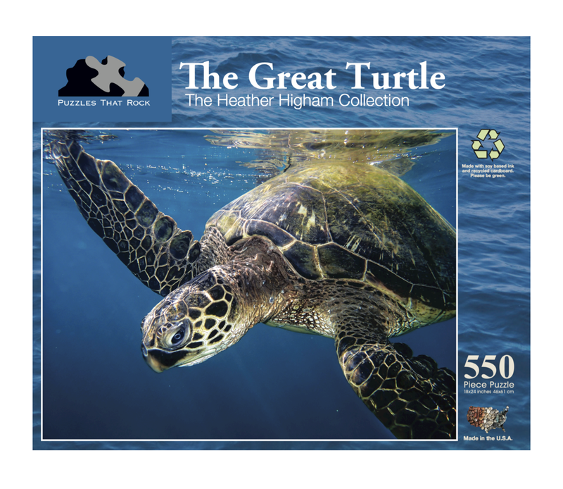 The Great Turtle Jigsaw Puzzle 550 Piece