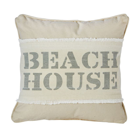 Square Blank Canvas Pillow Optional Beach Cover Pillow Wrap