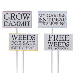Funny Planter Sign