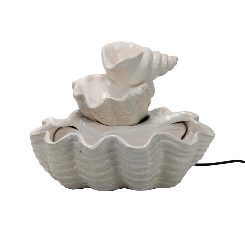 Tiered Seashell Fountain