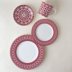 Crimson Casablanca Dinnerware & Serving Pieces
