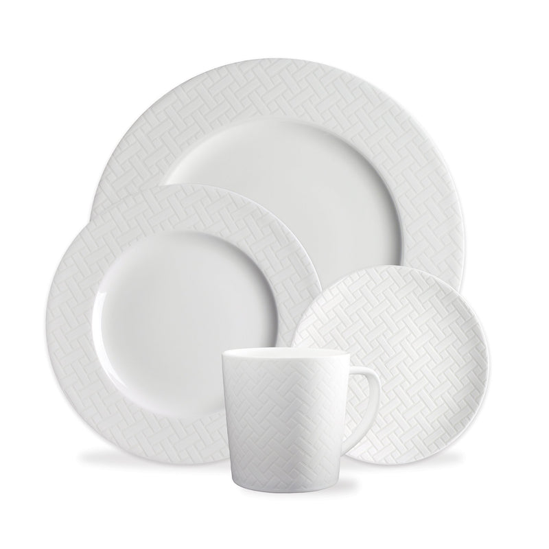 Wicker Dinnerware & Serving Pieces