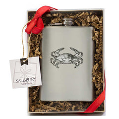 Crab Flask Gift Set