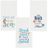 Beachy Sayings Kitchen Towel