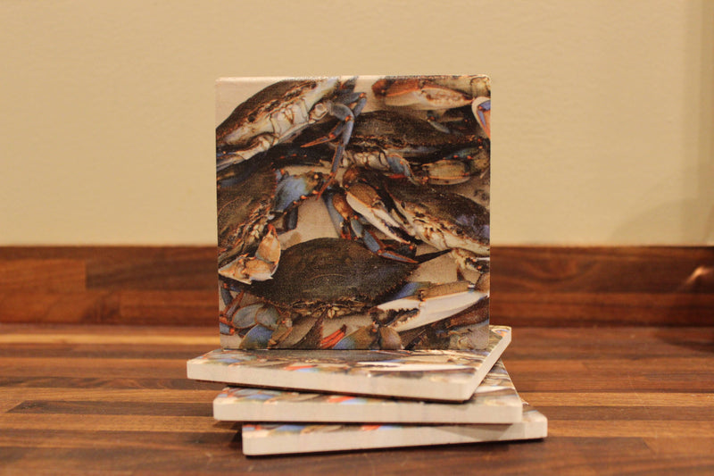 Thirstystone Coasters - Crab Cast