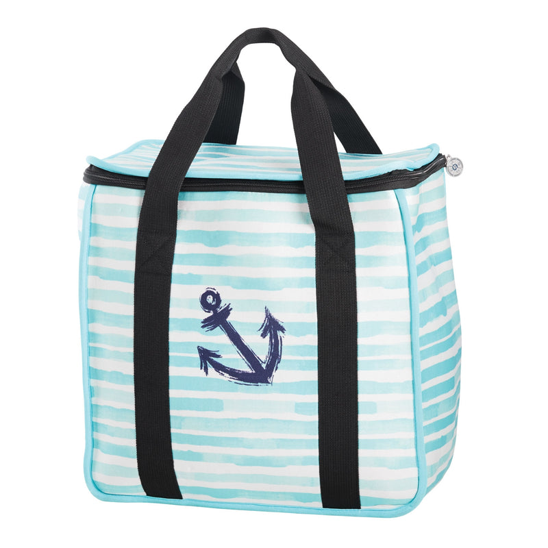 Striped Cooler Bag