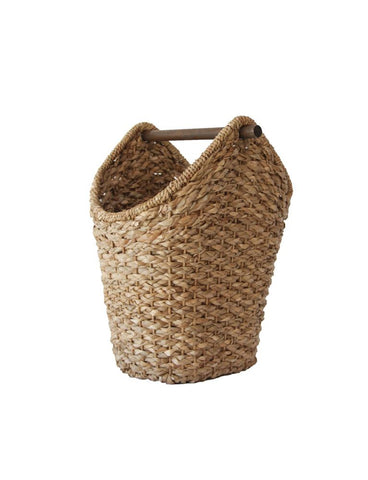 Braided Oval Tissue Basket