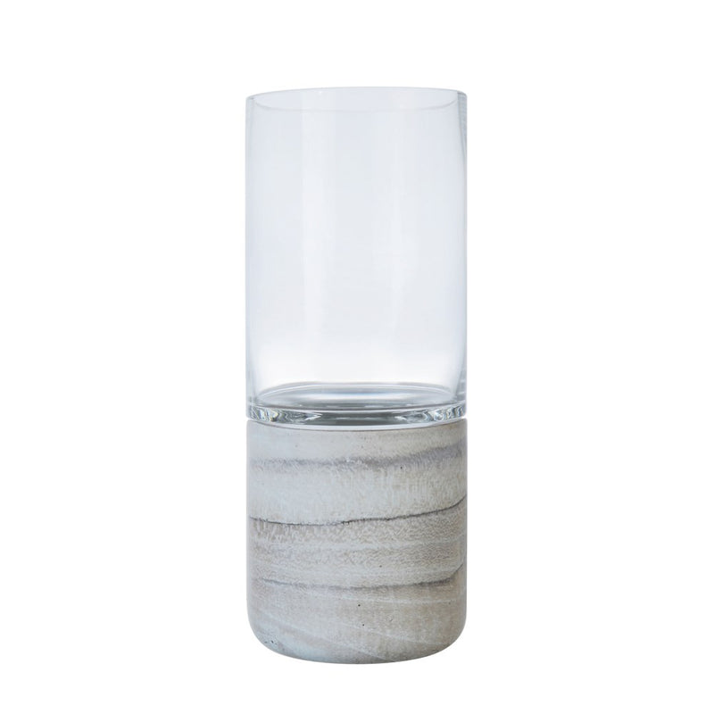Marble and Glass Tealight Holder - 2 Styles
