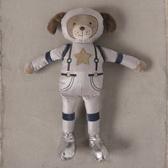Plush Astronaut Dog