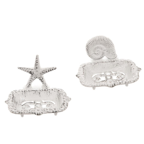 Assorted Soap Dishes Shell or Starfish