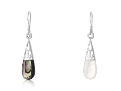 Sterling Silver Teardrop Earrings
