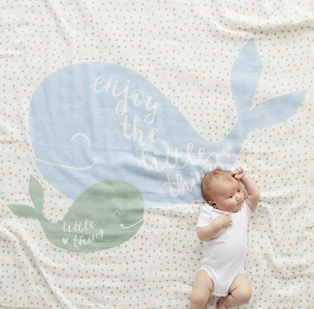 Enjoy the Little Things Photo Swaddle
