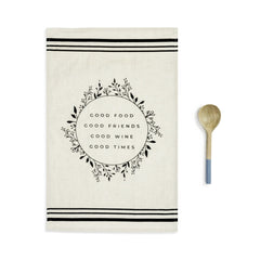Tea towel and Utensil Set