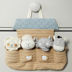 Noah's Ark with Squeakers plush toy set