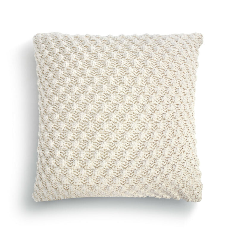 Open Weave Throw Pillow