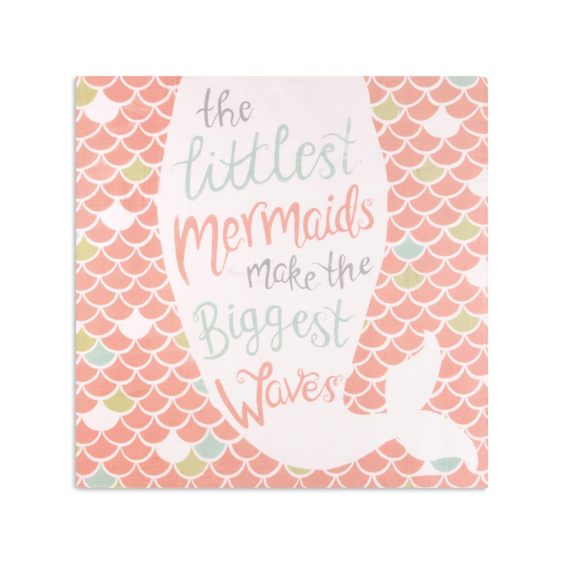 Littlest Mermaids Photo Swaddle